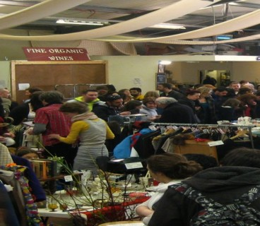 dublin flea market in the liberties busy busy
