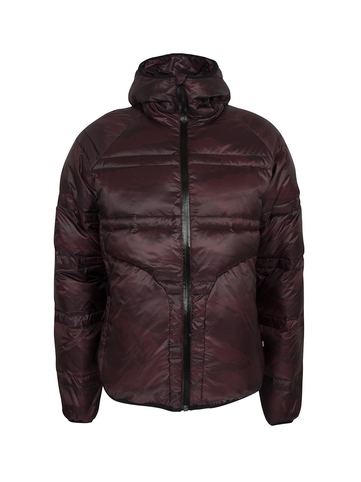 Replay Burgundy Puffa Jacket €220 at Arnotts
