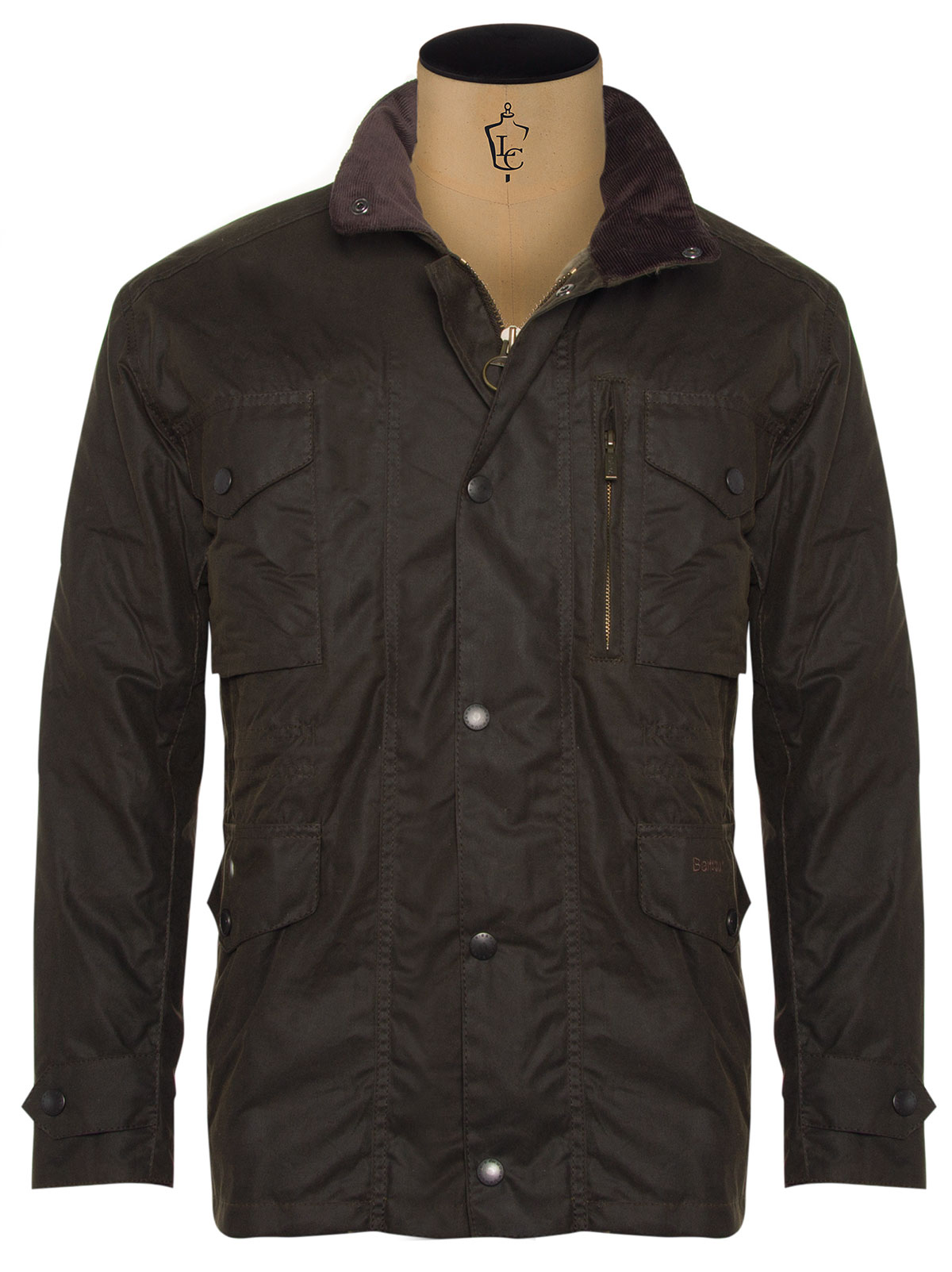 Barbour Sapper Waxed Jacket €299 at Louis Copeland