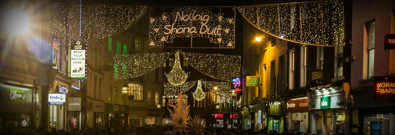 Christmas In Dublin Ireland.Grafton Street Christmas Lights Switch On Dublintown Fashion