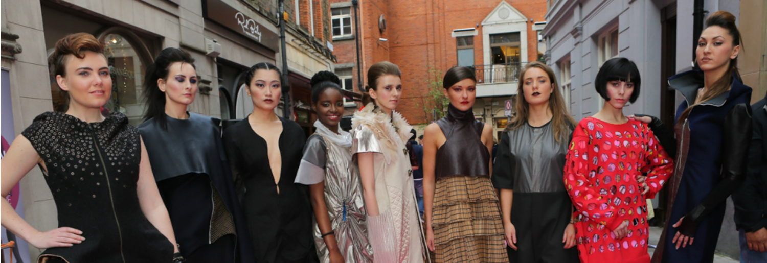 Street Fashion Show on Coppinger Row