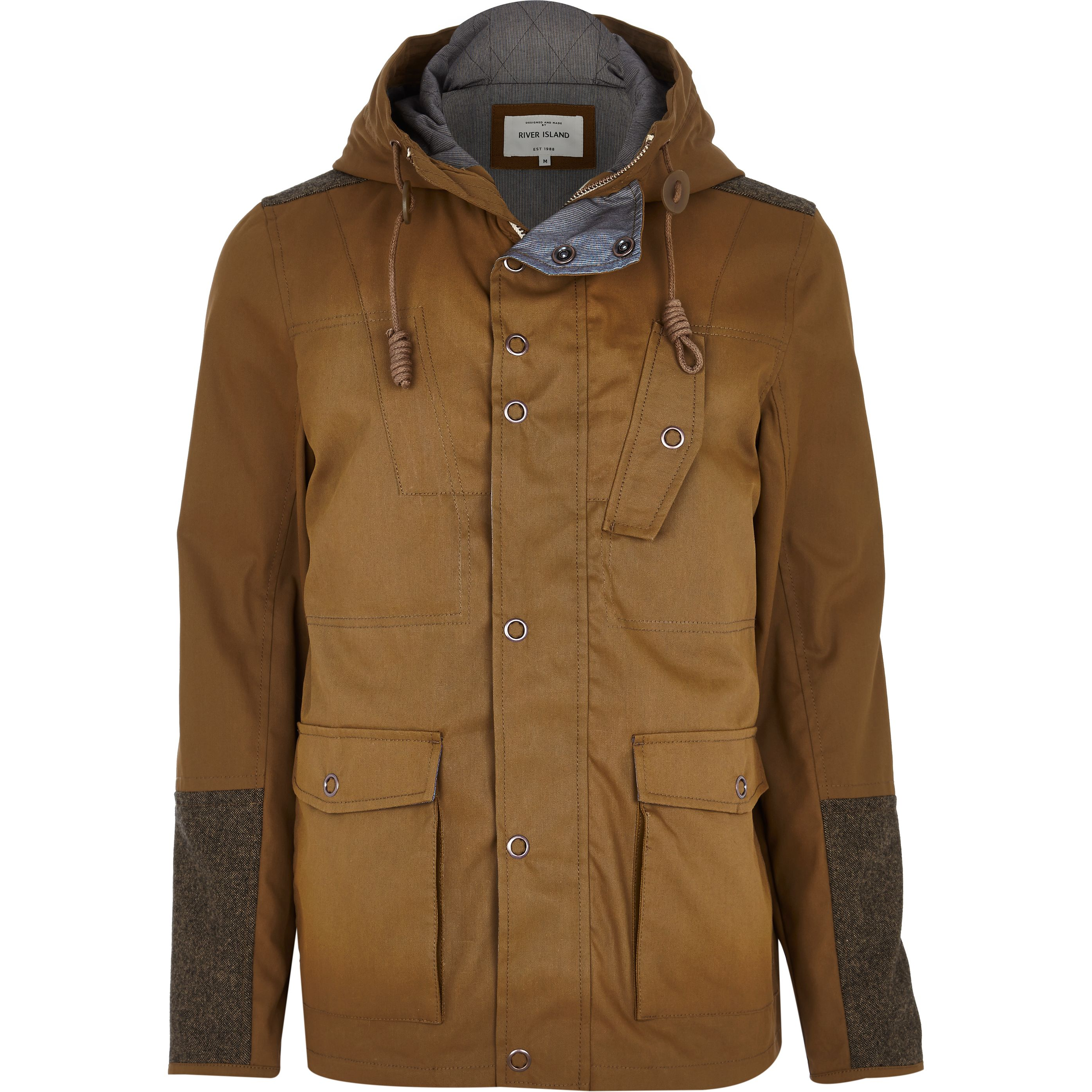 Tan Casual Jacket €85 at River Island – For the Weekend Warrior
