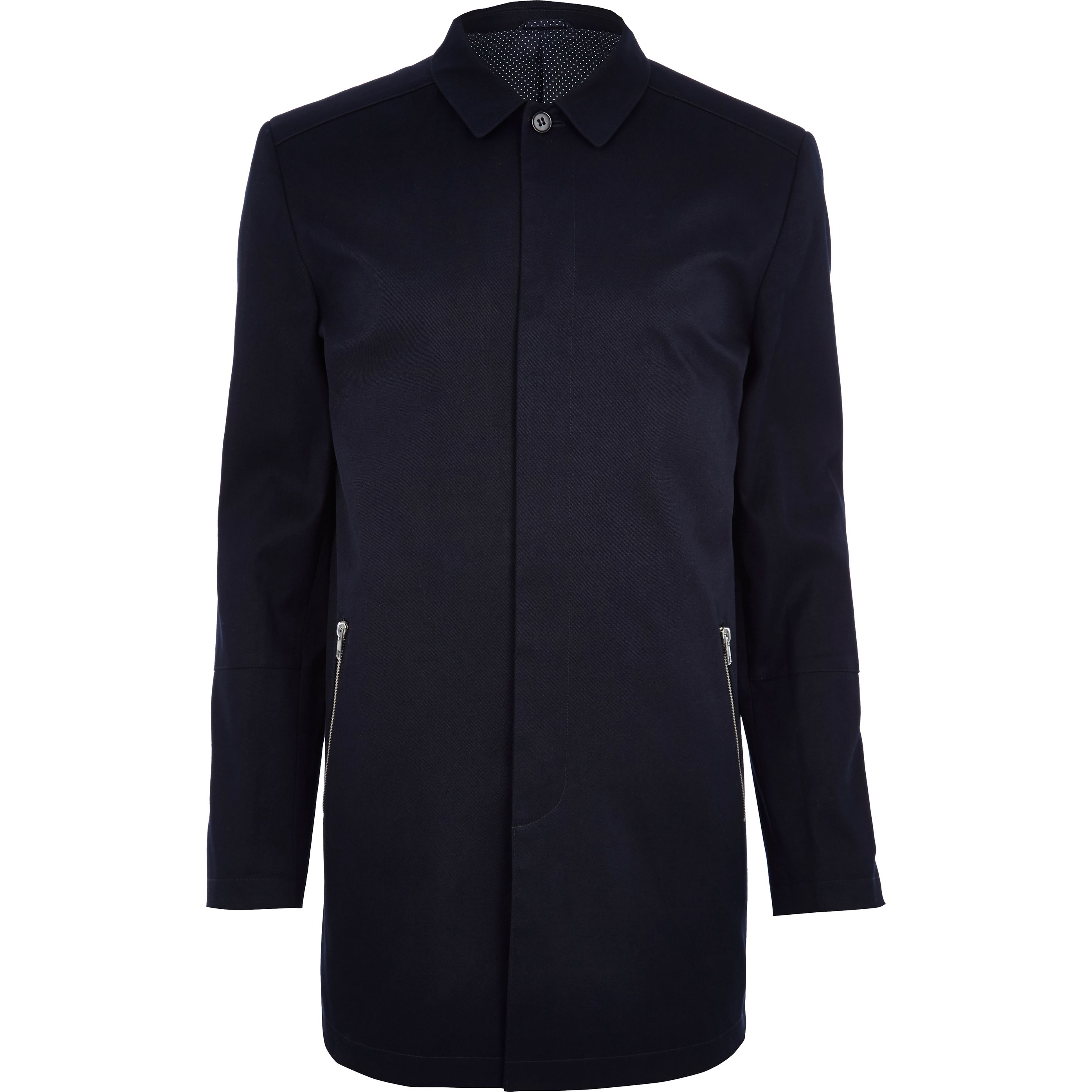 Navy Smart Mac €105 at River Island – Minimal Magic