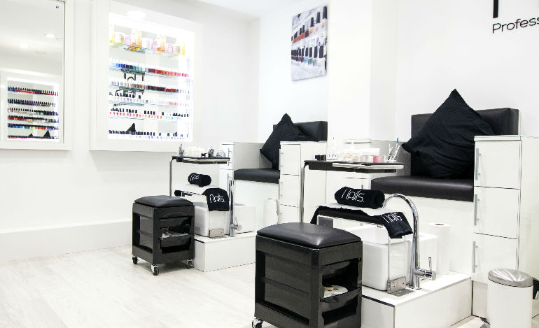 Nails in Arnotts Launches New Pedicure Stations