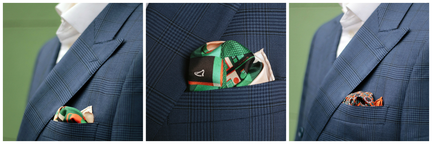 NEW POCKET SQUARE COLLECTION BY MR.JENKS