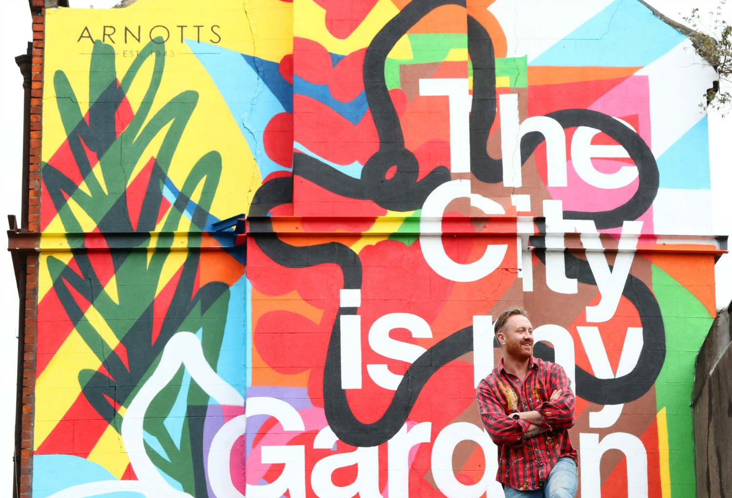 Arnotts launch 'The City is my Garden'
