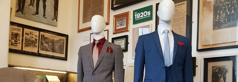Rise in Suit Sales at Debenhams