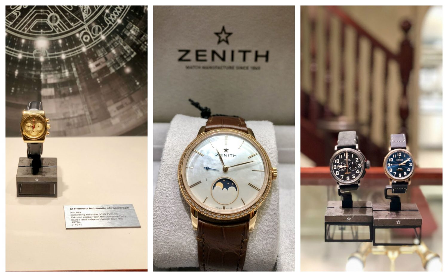 6be23133738 See the Zenith Watch Collection Exclusively at Weir and Sons ...