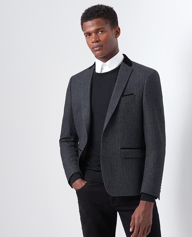 Blazers Dublin: Slim Fit Wool-Rich Jacket, €229