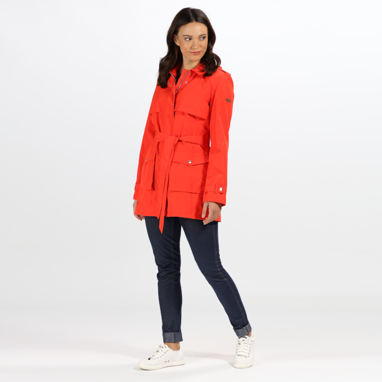 cbacb2d5c Why not stop by their store in Ilac Shopping Centre and have a browse!  Regatta SS19 Womens Fiery Red Grier Waterproof Jacket ...