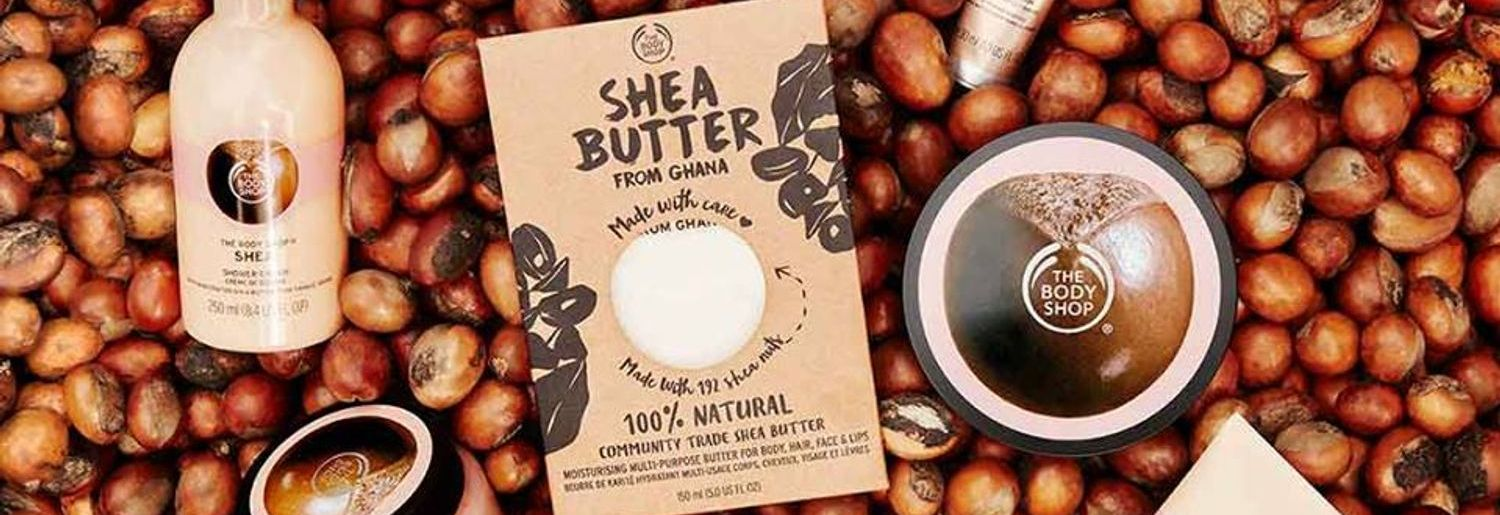 Treat Yourself with the New Shea Butter Collection from The Body Shop