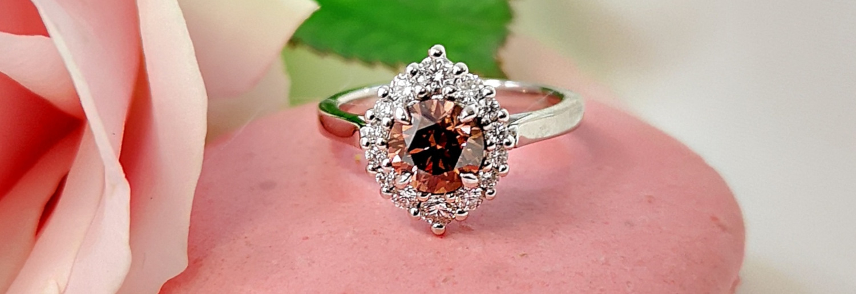 Trending: Brown Diamond Engagement Rings