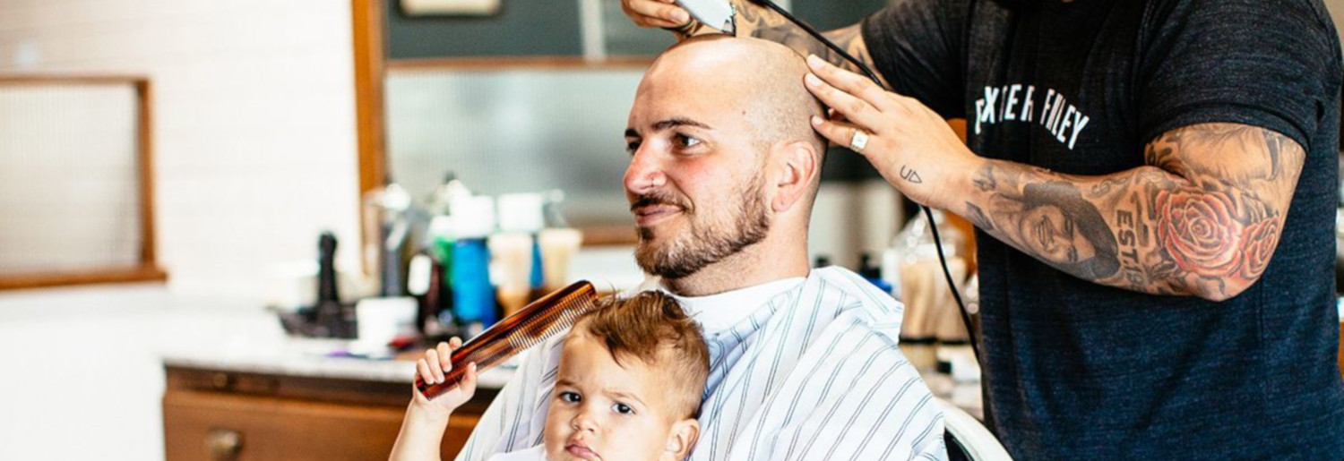 The Grafton Barber Father's Day Competition