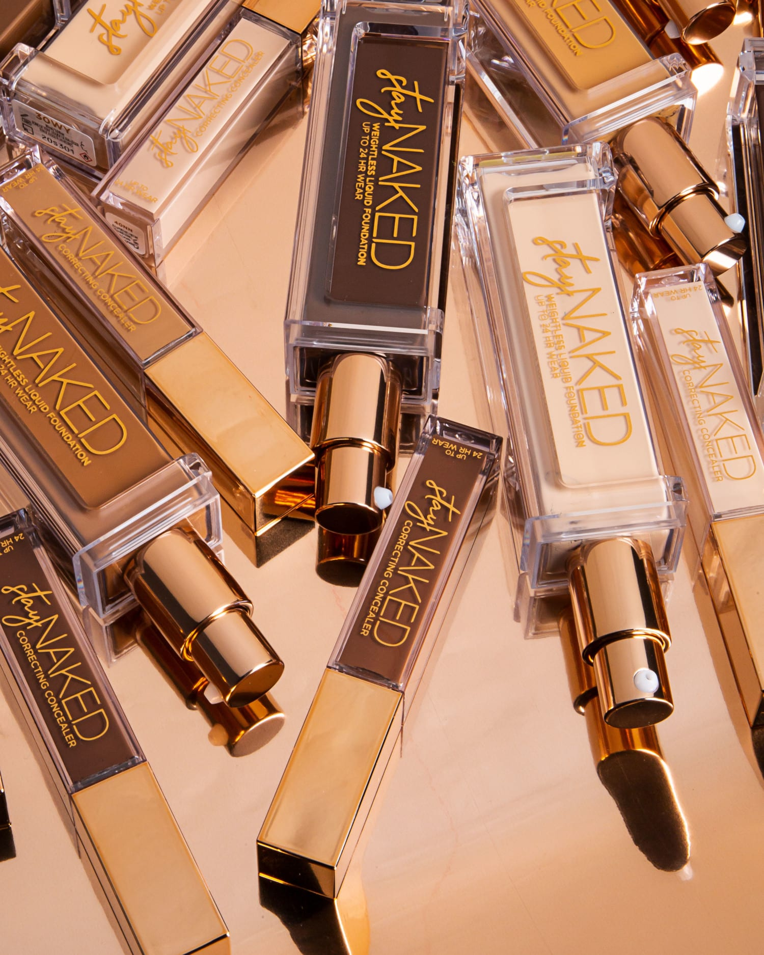 Urban Decay Launch New Stay Naked Foundation and Concealer